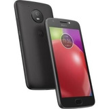 Celular Motorola Moto E4 Negro Nuevo 16gb Lector De Huella