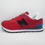 Tenis New Balance Lyfestilesneakers Wl574acc Redblack Unisex