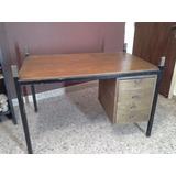 Escritorio De Madera Maciza C/ 4 Cajones Mesa Mueble Oficina