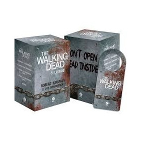 Livro Box The Walking Dead (5 Volumes) + Brinde - Lacrado