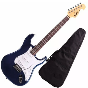 Guitarra Mod Fender Tagima Memphis Mg32 Azul Metalico + Capa