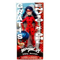 Envio Inmediato Bandai Prodigiosas Miraculous Ladybug 30cm