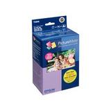 Epson Kit Cartucho Y Papel T5846 4-colores, 150 Páginas De 4