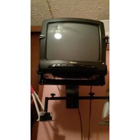 Televisor Tv 14 Pulgada Marca Memorex + Base Aérea + Control