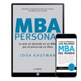 Mba Personal De Josh Kaufman Colección 20 Libros - Digital