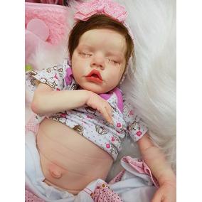 Bebê Reborn Manuzinha Com Placa De Barriga É Linda