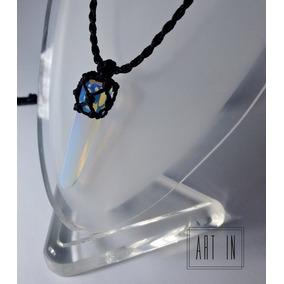 Colar Amuleto Hippie Pedra Da Lua Opala Masculino E Feminino