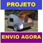 Projeto Para Fabricação De Mini Trailer + Frete Grátis Ebook