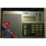 Sony Icf 7600d Radio Multibanda - Dx Ssb - Fm/lw/mw/sw Pll