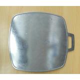 Budare Aluminio Curado Reforzado Liso 27cm