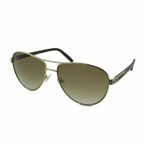 Oculos Tipo Aviador Guess (modelo Gu 7208 Gld-34) - Original