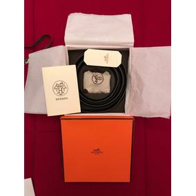 Cinto Hermes Preto Original Na Caixa - Pouco Uso