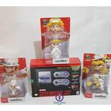 Snes Super Nintendo Classic + Amiibo Mario Odyssey + Regalo