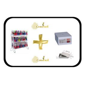 Estufa Esterilizador Manicure + Display Acrílico De Esmaltes