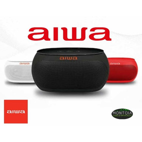 Speaker Aiwa Aw31 Com Bluetooth/auxiliar Bateria De 2.500mah