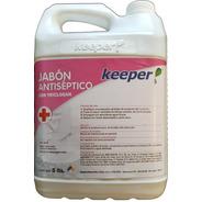 Jabón De Manos Antibacterial Sanitizante Bidón 5 Litros
