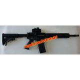 Fusil Asalto M4 No Fogueo Solo Adorno Con Red Dot Full Metal