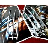 Garras Wolverine 32cm + 3 Garras Chicas + Póster