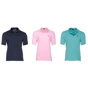Pack 3 Playeras Tipo Polo - Polo Club