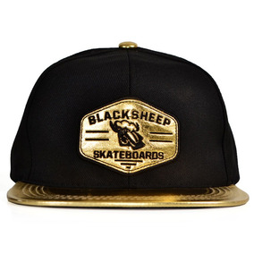 Boné Black Sheep Ouro Aba Reta