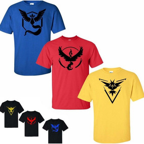 Playeras O Camiseta Pokemon Go Promocion Limitada Tallas1-xl