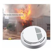 Detector De Humo Incendio Seguridad Alarma Sonido
