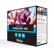 Teste Kit Reef Foundation Pro Red Sea Cálcio Alc/kh Magnésio