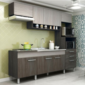Cozinha Compacta Novo Tempo Anita 9 Portas E 2 Gavetas Mal