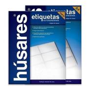 Etiquetas Autoadhesivas Husares H34164 A4 4,85 X 1,69 100h