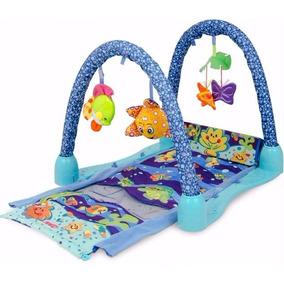 Gimnasio Para Bebe Y Alfombra Mi Acuario Zippy Toy