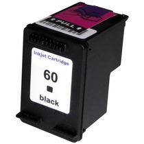 Cartucho Hp 60 Xl Preto Compatível Deskjet D110 F4280 F4480