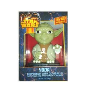 Despachador Chicles Dulces Star Wars Darth Vader Yoda Sonido