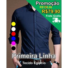 Kit 02 Blusas Masculina Social Camisa Roupa