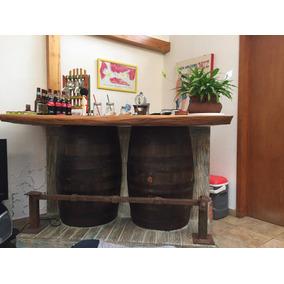 Barra Para Bar Tipo Rústico // 3 Años De Uso
