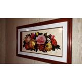 $5300 - Cuadro - Arte Tridimensional 3d - Flores
