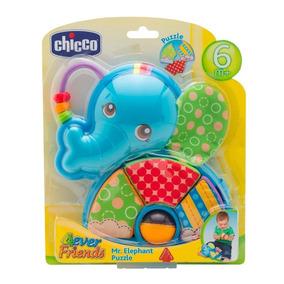 Chocalho P/ Bebe Chicco Primeiras Atividades Elefante