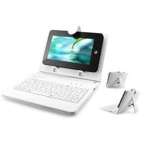 Tablet 7 Quadcore Wifi 2 Cameras Capa Teclado 8gb + 32gb
