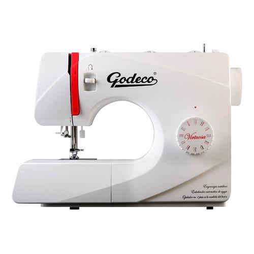 Máquina de coser Godeco Virtuosa  blanca 220V
