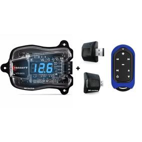 Voltímetro Taramps Vtr-1200 Azul + Controle Connect Control