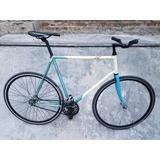 Bicicleta Fixie Fixed Cuadro Pista Talle 59x60 R28 Vintage