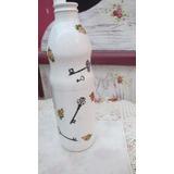 4) Botellas Y Frascos De Vidrio Reciclado*