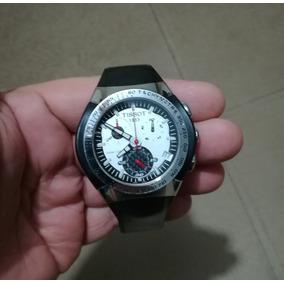 03d62126306 Relógio Tissot T Tracx Crono Amarelo T010417 Aceito Trocas ...