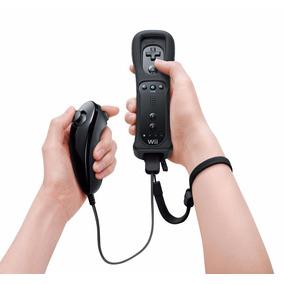 Control Nintendo Wii: Wiimote Con Silicona + Nunchuck