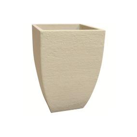 Vaso Quadrado Moderno Cimento 45cm