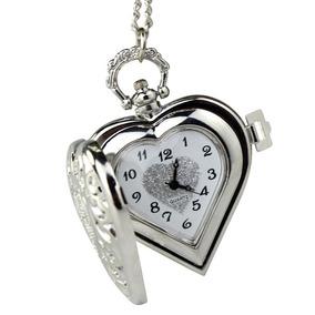 Relógio De Bolso Design Coração