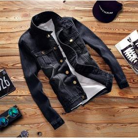 858c63adc7 Jaqueta Jeans Masculina Destroyer Vintage Blusa Jeans Rock
