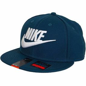 Gorra Nike Para Hombre True Snapback Azul-bco