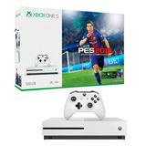 Consola Xbox One S 500gb Joystick Pes 18 Mexx