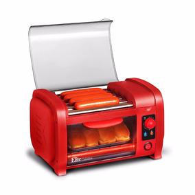 Maquina Para Hacer Hot Dogs Rojo *envío Gratis