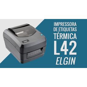 Impressora Codigo De Barras Elgin L42 Usb/ser
